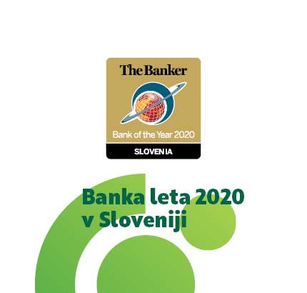 SKB received the award »Bank of the Year 2020 in Slovenia«