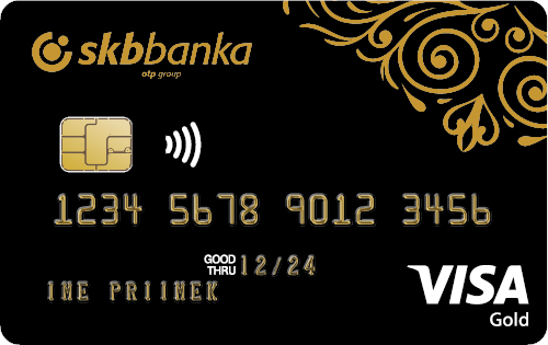 Gold Visa Prestige card